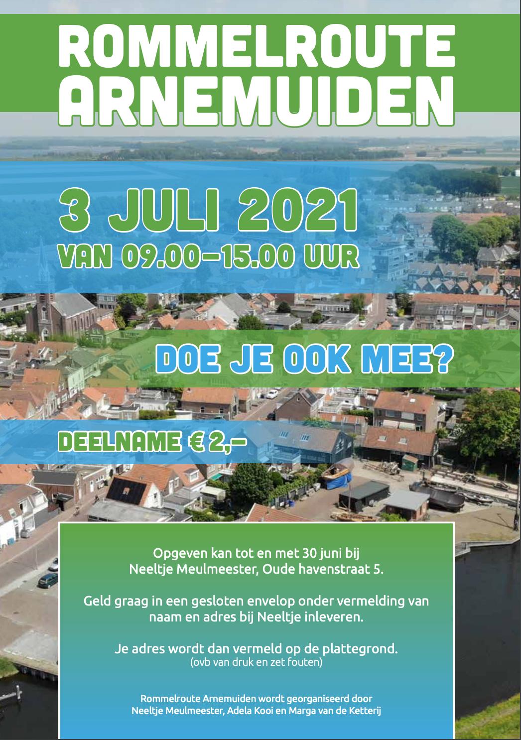 Evenementen-rommelroute-arnemuiden-3-juli-2021-rommermarkt-route-opgeven-Walcheren-Zeeland